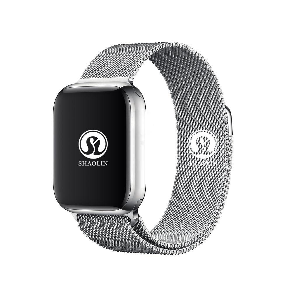 Montre intelligente 4 Fréquence Cardiaque boîtier de Smartwatch pour apple iPhone Android téléphone IWO 5 6 upgrade PAS apple Watch Smartwatch 42mm