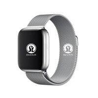 Smart Uhr 4 Herz Rate Smart Uhr fall für apple iPhone Android telefon IWO 5 6 upgrade NICHT apple watch Smartwatch 42mm|Smart Watches|   -