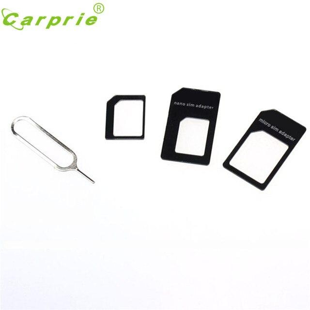 Levert Dropship Retail Versão Melhor Qualidade Com Pin Converter Cartão SIM Nano para Micro Padrão Adapter Para o iphone e para samsung