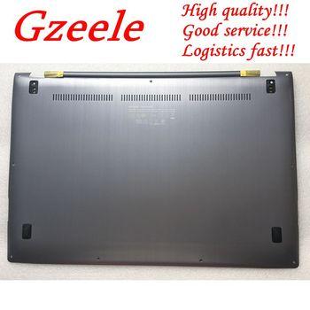 GZEELE NEW FOR ASUS UX302 UX302L UX302LA base case bottom cover gray PN 90NB02P0-R7D100 13N0-QFA0611 lower case