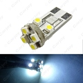 50pcs  White T10/168/194 Wedge 8LED 3528/1210 8SMD Canbus No-Error Car LED Light Bulbs  #CA2642