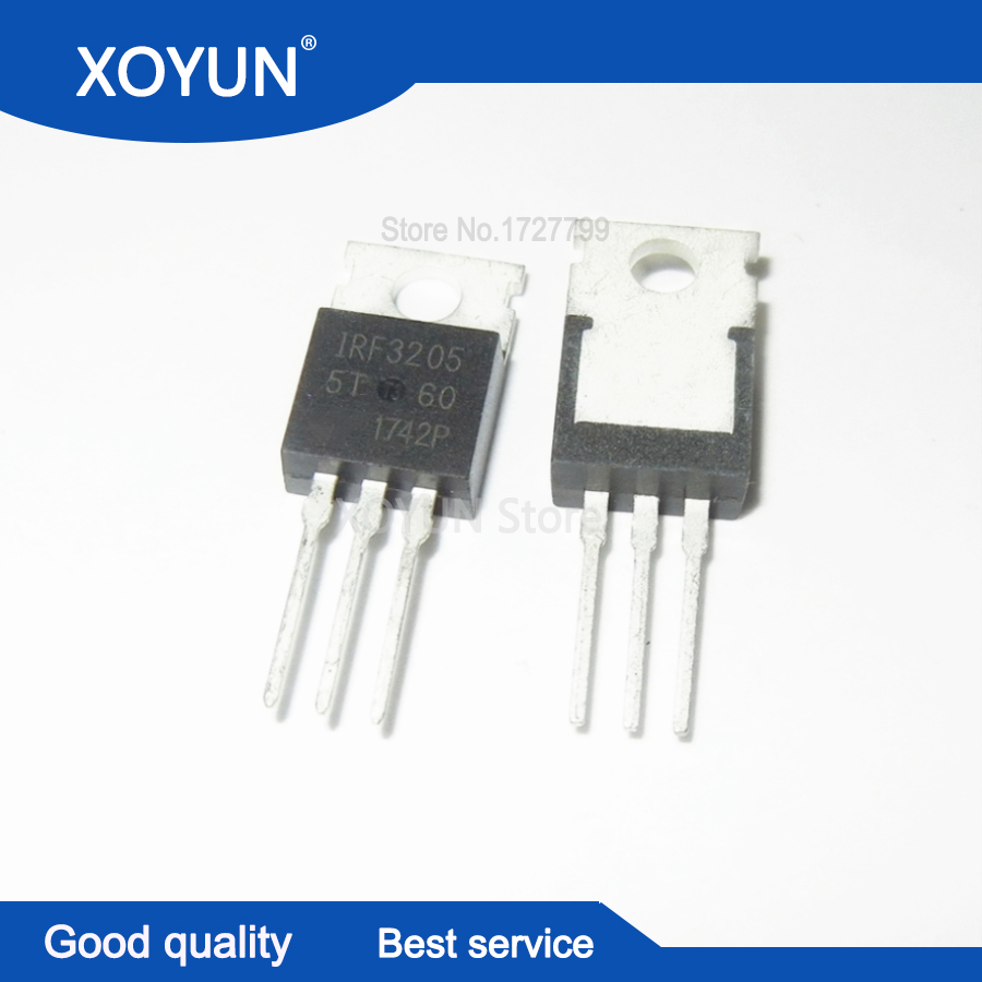 10pcs/lot IRF3205PBF IRF3205 TO-220 NEW And Original