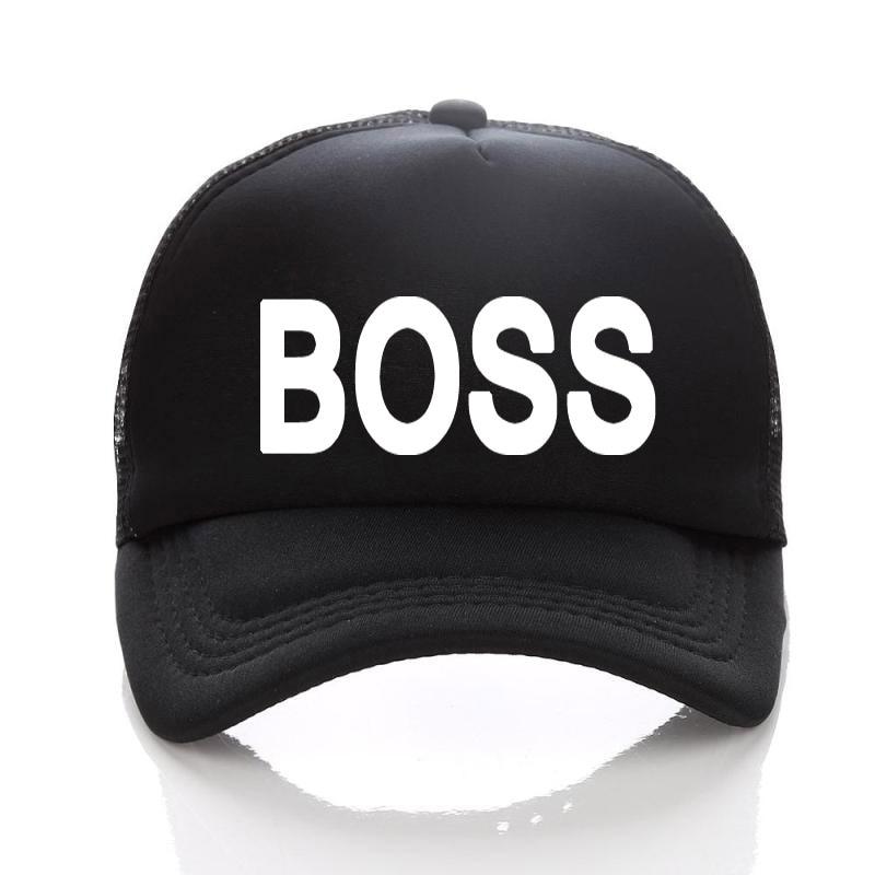 Free Printing Letter BOSS Baseball Cap Black Adult Hats Adjust Casual  Unisex Snapbacks Sun Cap Hip Hop Hats 03791002e72