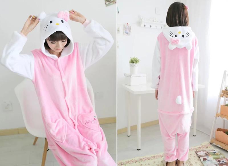 pink cat pajama