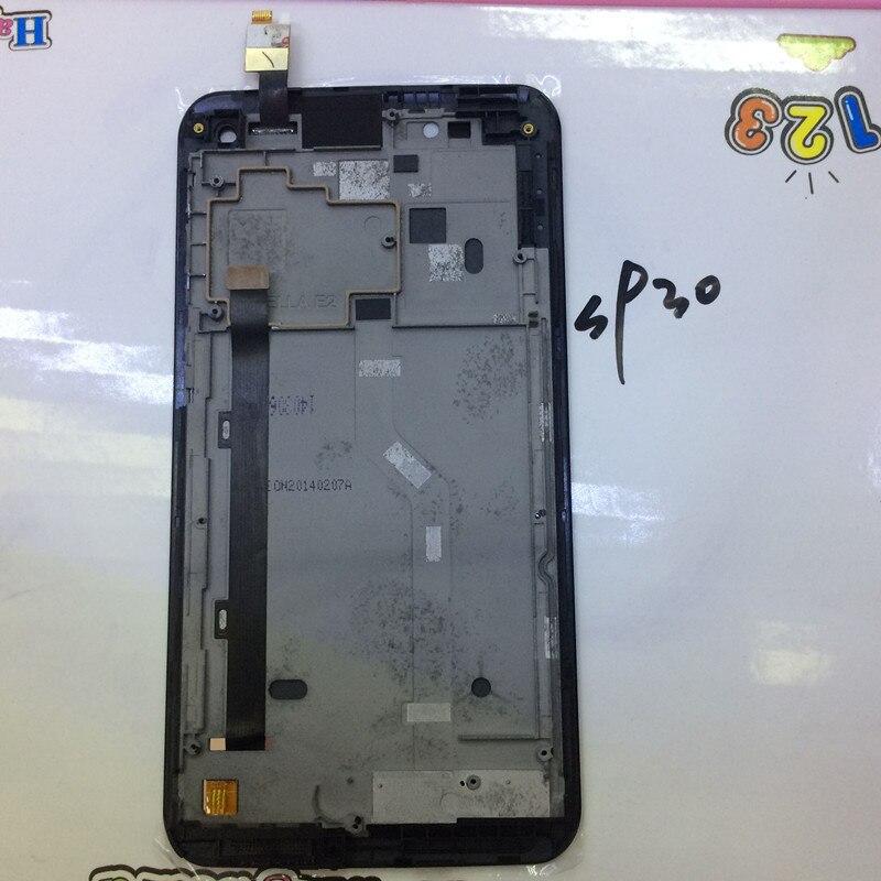 Para lenovo s930 teléfono móvil lcd + pantalla táctil digitalizador asamblea con