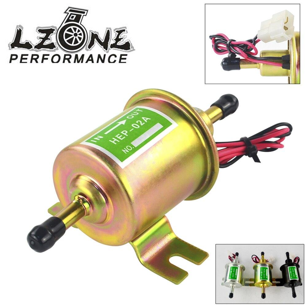 LZONE-Premum Électrique Pompes À Carburant Métal Intank Solide Essence 12 v 1.2A Universel 12 v Heavy Duty Électrique Carburant pompe JR-BJ-HEP-002