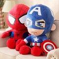28/45cm Batman Q versions The Avengers Captain America Iron Man Spiderman The Incredible Hulk Plush Toys
