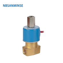 цена на NBSANMINSE QX22-06 1/4  & 1/8 &3/8 Direct acting round coil Two way two position solenoid valve Pressure 0~0.9MPa 2/2 and 2/3