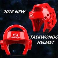 The head nurse Taekwondo Taekwondo helmet genuine head guard forming a taekwondo Sanda boxing helmet