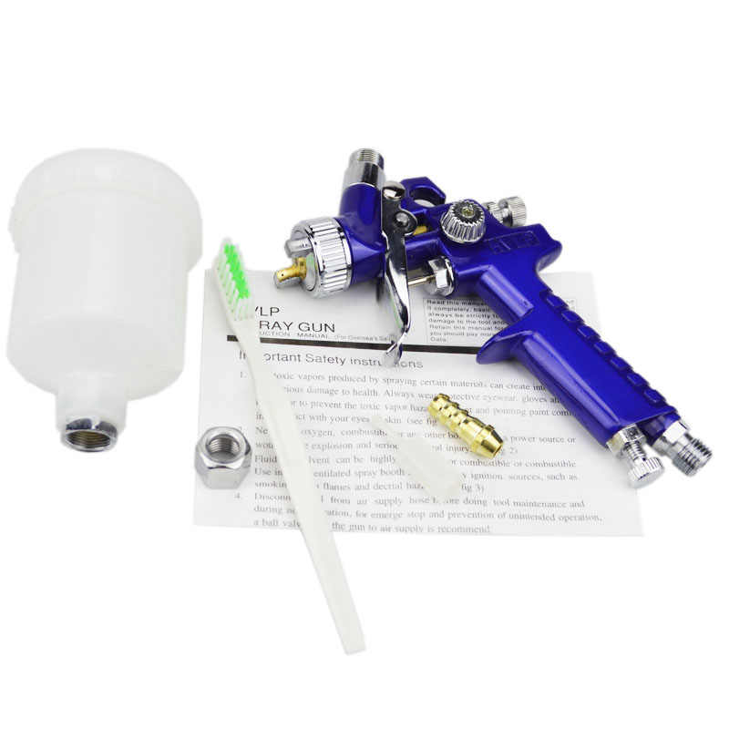 AETool 0.8mm/1.0mm Nozzle H-2000 Professionele HVLP Spuitpistool Mini Air Verfspuitpistolen Airbrush Voor Schilderen auto Aerograph