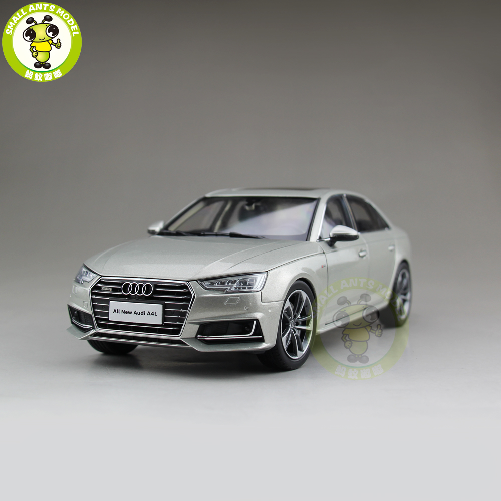 все цены на 1/18 Audi A4L A4 Diecast Metal Car Model Toy Girl Kids Boy Gift Collection Silver онлайн
