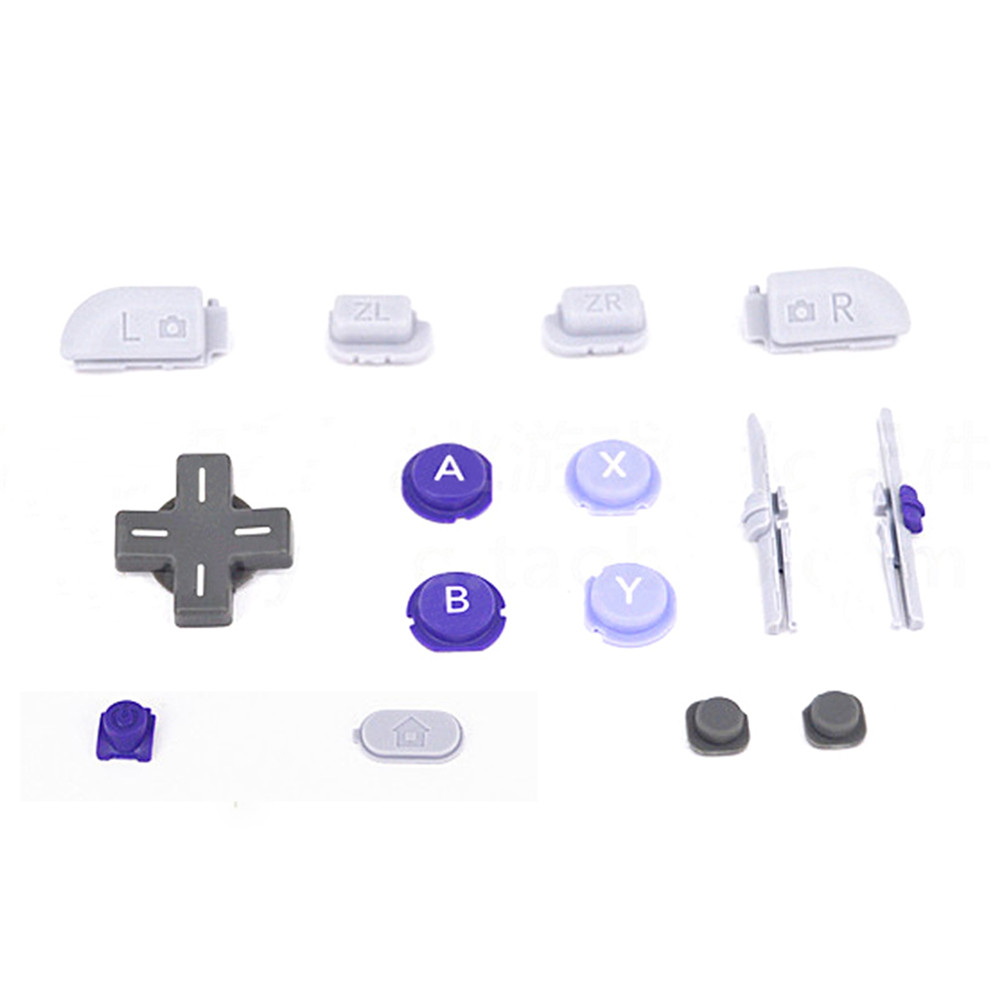 Replacement Gaming Repair Parts Full Set Buttons Keys For New Nintendo 3DS XL/LL SNES Super NES Version Handheld Console button