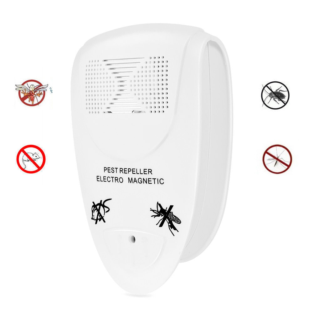 Image 2 - 2019  Ultrasonic Electronic Indoor Anti Mosquito Rat Mice Pest Bug Control Repeller convenient and  practical HOT Sale product-in Repellents from Home & Garden