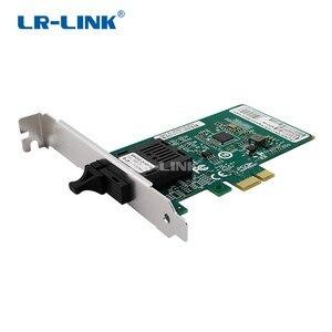 Image 1 - LR LINK 6230PF BD gigabit ethernet BIDI adapter sieci 1000 Mb pci express karta LAN pulpitu dla komputer stancjonarny Intel I210 Nic