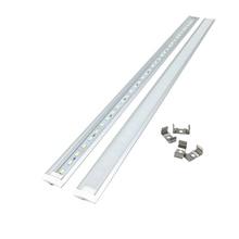 New Embedded strip 5PCS/Lot 7W 50CM Rigid Strip 5730 LED Bar U Groove Light 72LEDs/M LEDDC 12V 5630 LED Tube Hard LED Strip