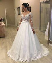 High Quality Wedding Dress with Sleeves Bridal Gown Dresses For Bride Custom Made To Order Superbweddingdress