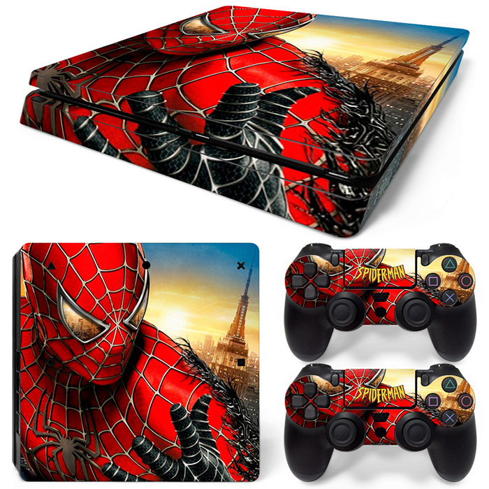 Self-adhesive Skin Cover Promotion product Skin For PS4 Slim Game Accessories