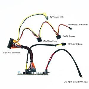 Image 2 - RGEEK 12V 300W DC DC ATX PSU Pico Interruptor ATX PSU Pico de Mineração 24pin MINI ITX DC para ATX fonte de Alimentação do PC Para Computador do carro