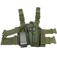 With Two Pouches Tactical Leg Holster Gun Airsoft Pistol Holster For Beretta M9 92 96