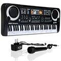 61 Teclas de Música Digital Electronic Keyboard Teclado de Piano Eléctrico de Regalo Regalo Nuevo