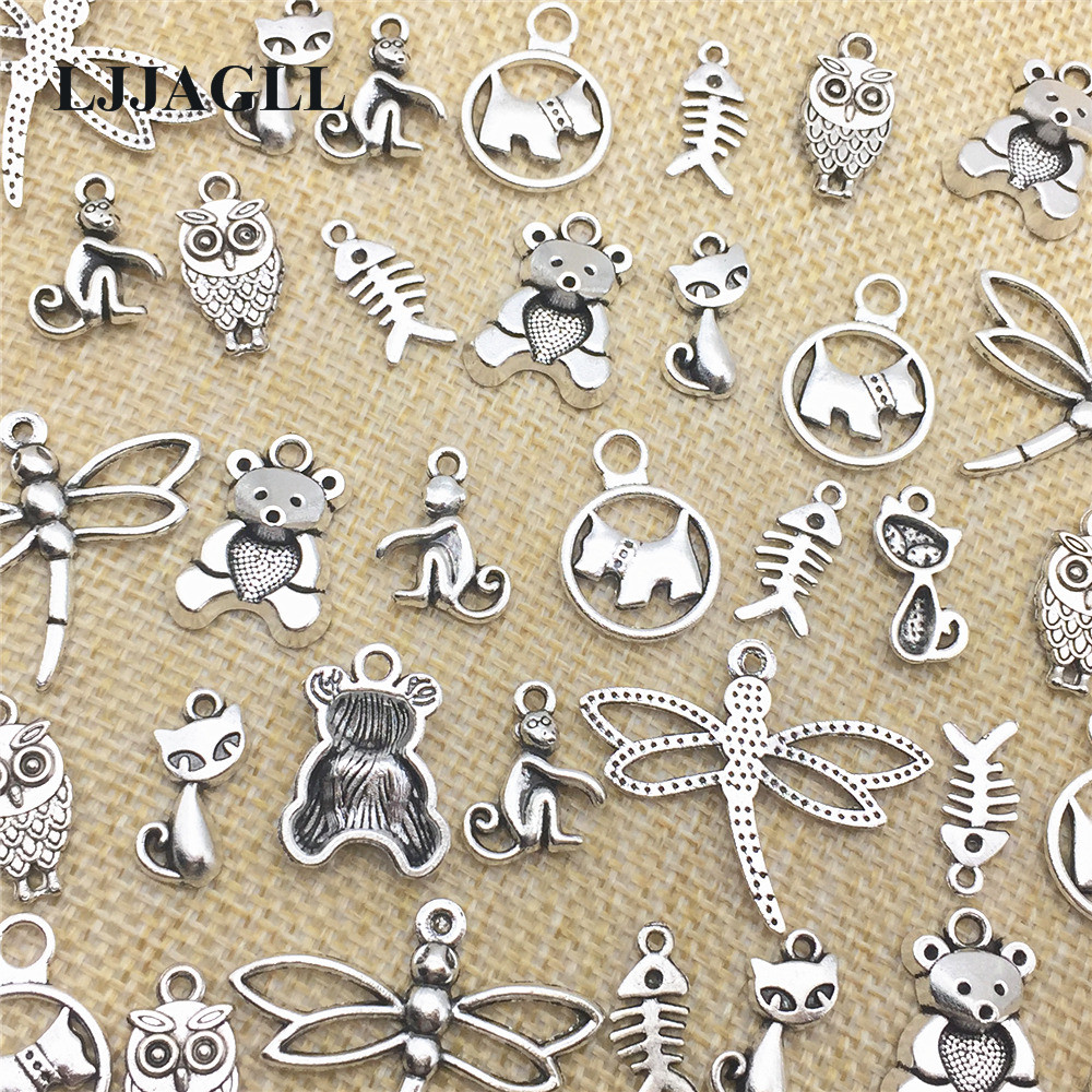 30 x Tibetan Silver BABY SHOWER CHARMS MIXED DESIGNS No.4 Charms Pendants Beads