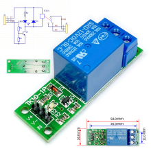 цена на Mayitr 1pc DC 5V Relay Module Normally Open And Closed Electrical Switch Board Relay Driver Module
