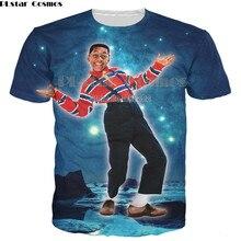 PLstar Cosmos 2018 Summer Hip Hop T shirt Cartoon Character Urkel 3d Print T-Shirt for Women/Men Short Sleeve shirts Tops Tees