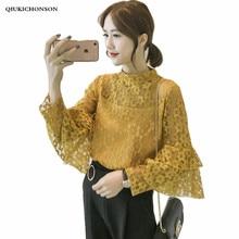 Autumn Winter new fashion plus size tops Amercian flag t shirt women long sleeve casual loose oversized clothing