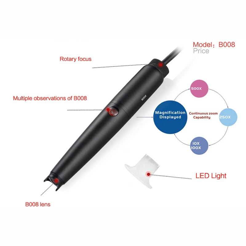 Cyfrowy mikroskop Supereyes Pen B008 Sprzęt 5.0M pikseli 500X Zoom - Przyrządy pomiarowe - Zdjęcie 6
