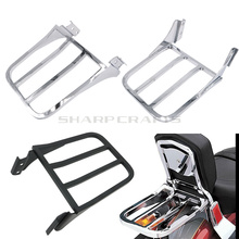 Motorcycle Sissy Bar Backrest Luggage Rack For 04-17 Harley Sportster Iron XL883 XL1200 Seventy Two XL1200V Forty Eight XL1200X for harley xl1200x forty eight sportster 48 2010 2011 2012 2013 2014 2015 39mm motorcycle fork triple tree top clamp