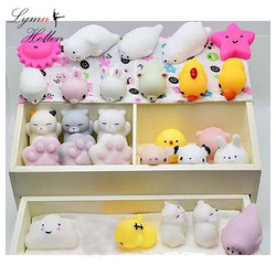 Lento Subindo Antistress Mochi Mini Animal do Kawaii Squishys Mole Toy Descompressão Cura Fun Apaziguador do esforço Anti-stress Brinquedo