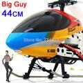 2017 hot 44 cm 3.5ch súper helicóptero de control remoto modelo toys con cuerpo de colores a la venta