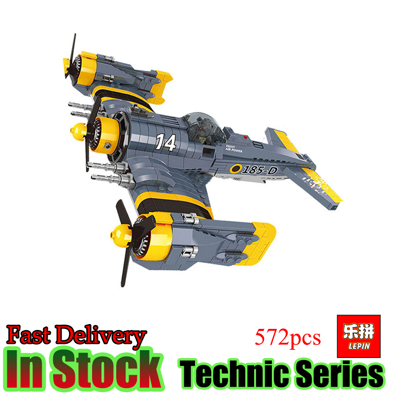 Lepin 22021 Technical 572pcs The Beautiful Science Fiction Fighting Aircraft Set Building Blocks Bricks Funny Toys Model Gift the great science fiction