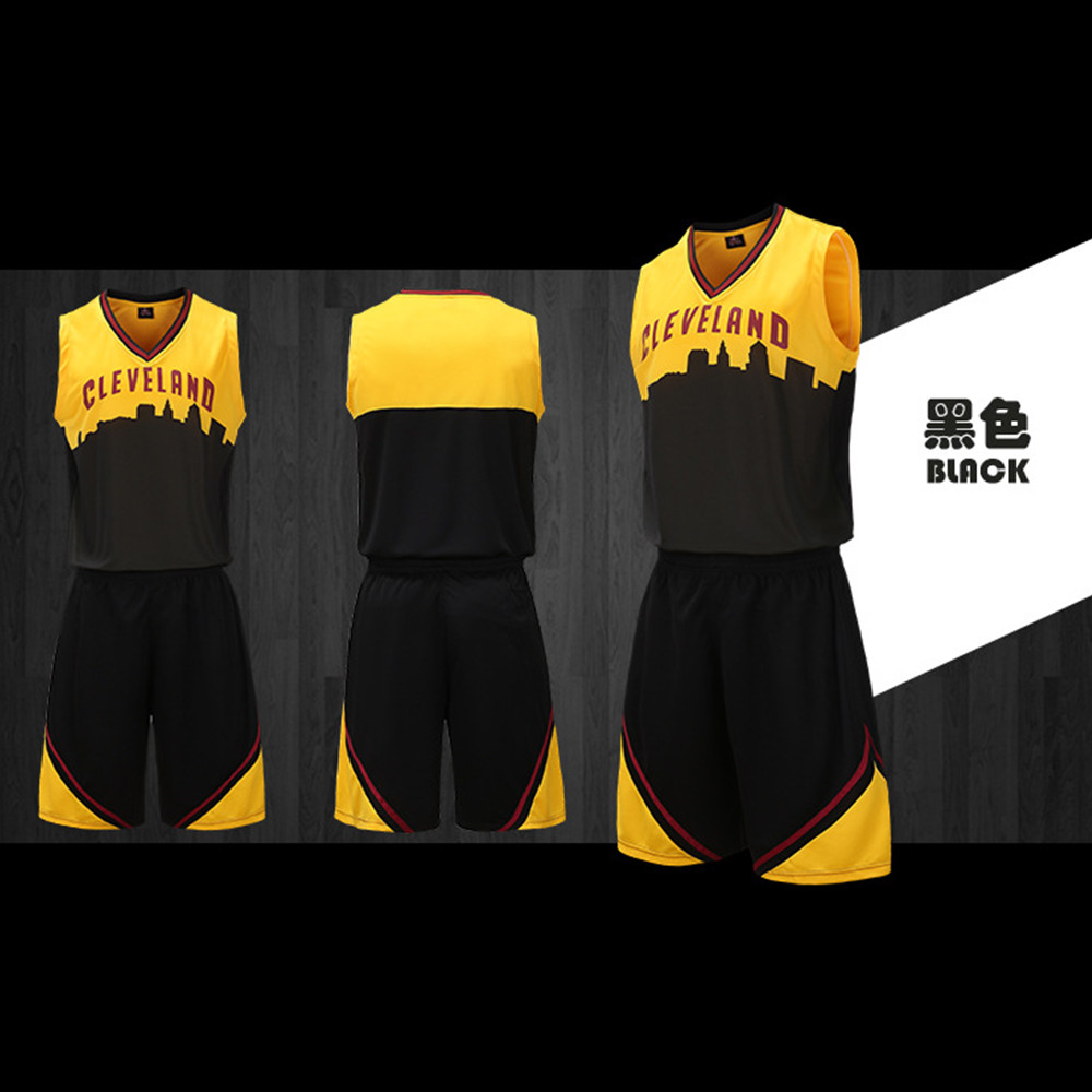 Summer Men S Basketball Jersey Sets Uniforms Kits Sports Shirts