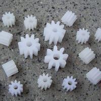 20pcs Pack Plastic Gear 0 5M Teeth 8 9 10 12 14 16 18 Bore 1