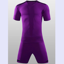 Football Jerseys 2017 Perfect quality Slim Short sleeve Men's Soccer Sets Breathable survetement football Uniforms QD1622