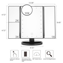 Magnifying Makeup Mirror Lighted