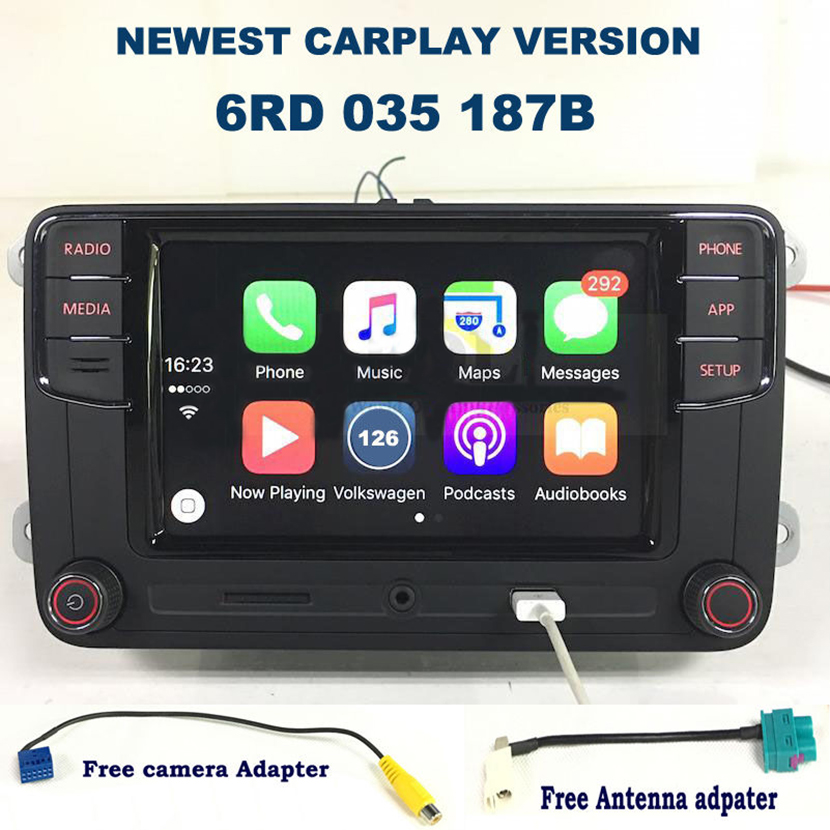 6RD 035 187B Desai Carplay RCD330 330G Plus 6.5 MIB Radio For VW Golf 5 6 Jetta CC Tiguan Passat Polo