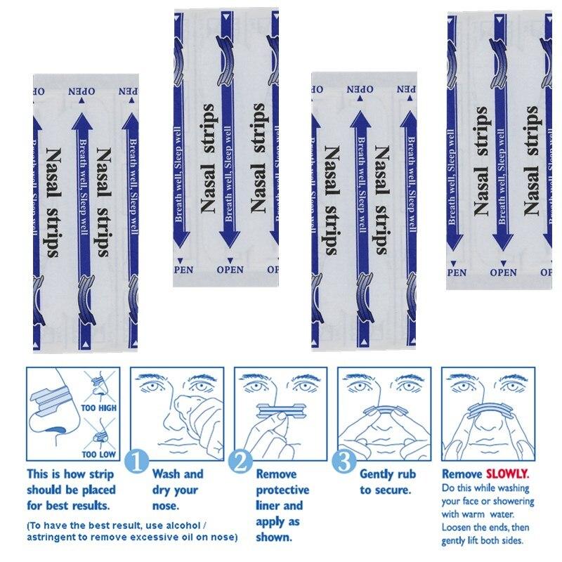 1800 шт. = 60 коробки носовой полоски анти храп прозрачные полоски лучше дыхание правильный способ уменьшить храп завод OEM поставка