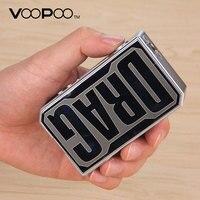 Original VOOPOO DRAG 157W TC Box MOD with US GENE chip Temperature Control e cigarette 157W 18650 box mod Vape Pro 0.05 3.0 Coil