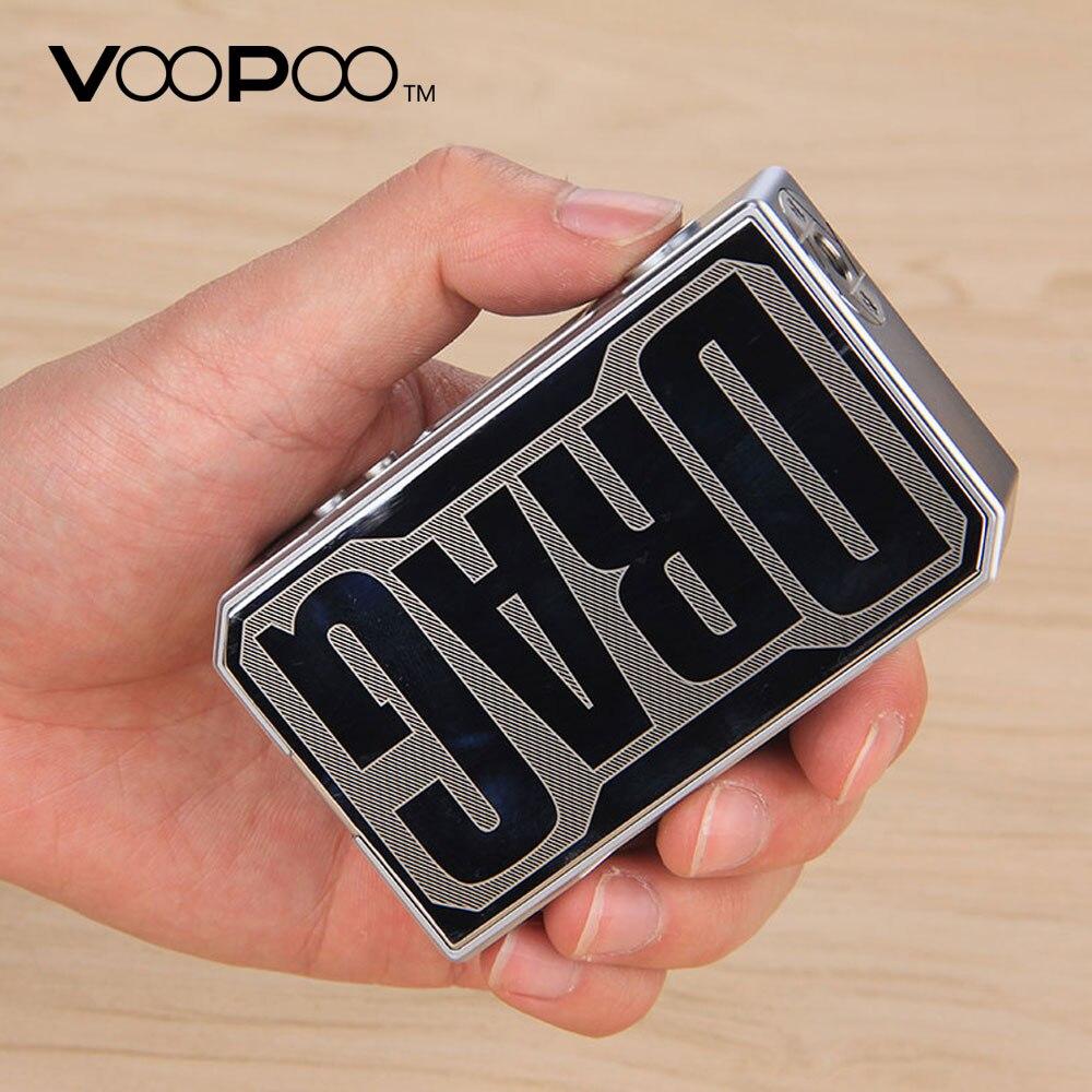 Scatola originale VOOPOO TRASCINARE 157 W TC MOD con NOI GENE chip Controllo della temperatura e cigarette 157 W 18650 box mod Vape Pro 0.05-3.0 bobina