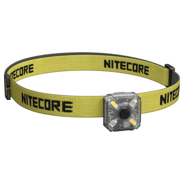 TopSale NITECORE NU05 KIT 35 Lumens White/Red Light High Performance 4xLEDs Build-in Battery USB Rechargeable Outdoor Headlamp
