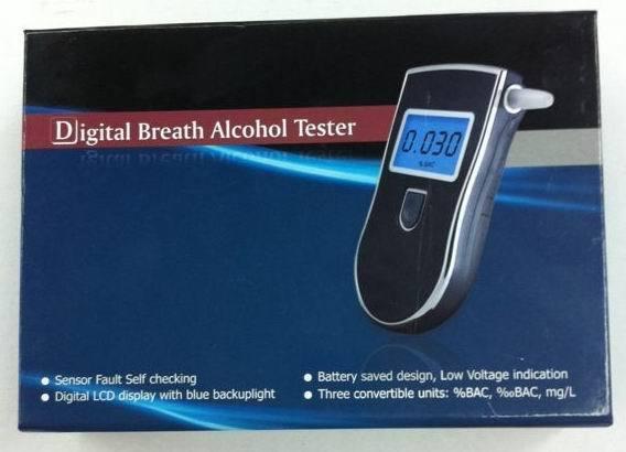 Professional Police Digital Breath Alcohol Tester Breathalyzer