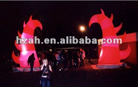 inflatable loghting model for party decorationinflatable loghting model for party decoration
