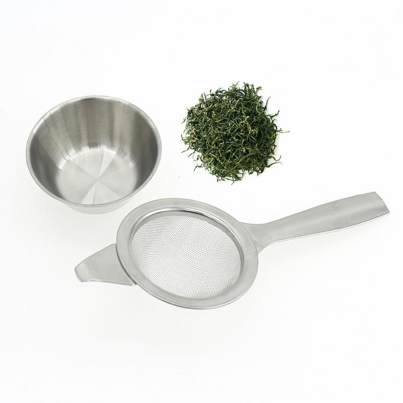 High Quality Tea Strainer Kitchen Tool Long Handle Tea Filter Hanging Mini Stainless Steel