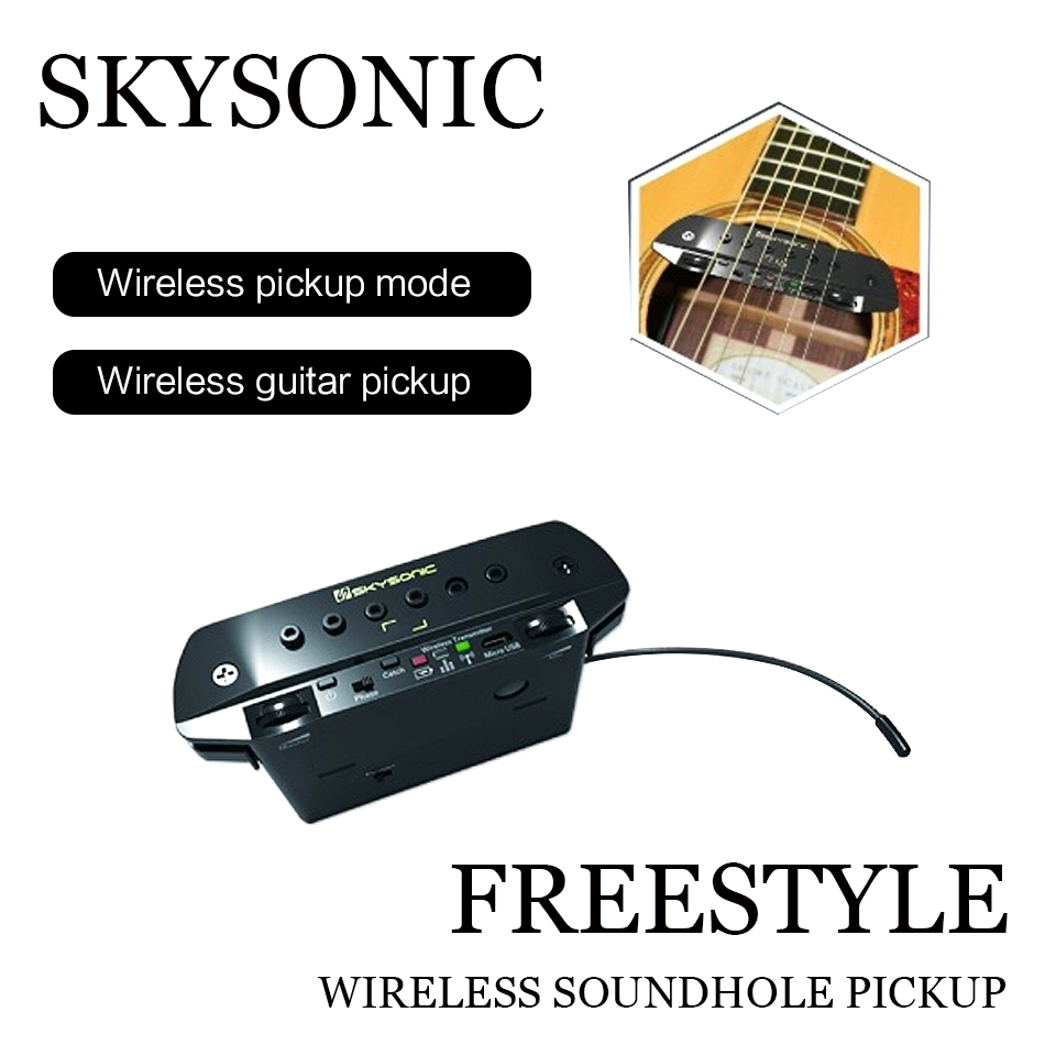 buy 2019 new tylanhua skysonic fs 1 wireless guitar pickup guitar accessories. Black Bedroom Furniture Sets. Home Design Ideas