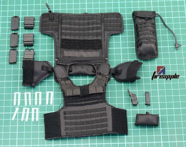 12 дюймов кукла спецназ 1/6 солдатские аксессуары тактическая бронированная модель тела грудь подвесной модуль группа фигурки