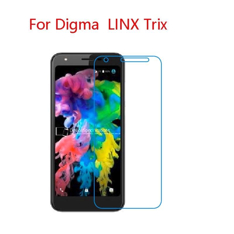 (2-pack) 9 H Flexible Glas Screen Protector Für Digma Linx Trix 4g