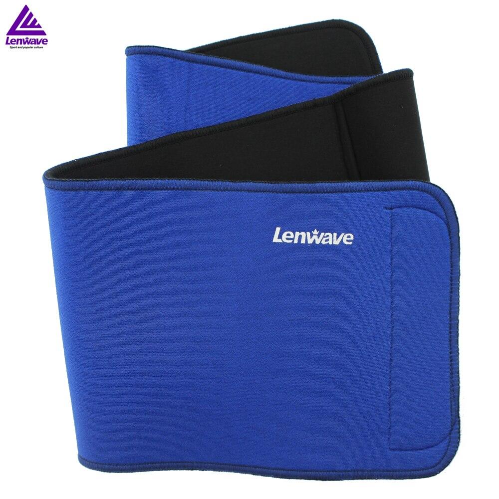 Prix pour Lenwave Marque 1 PCS Bleu taille soutien Fitness Taille Exercice de Récapitulation Ceinture Minceur Perte de Poids taille ceintures gym ceinture
