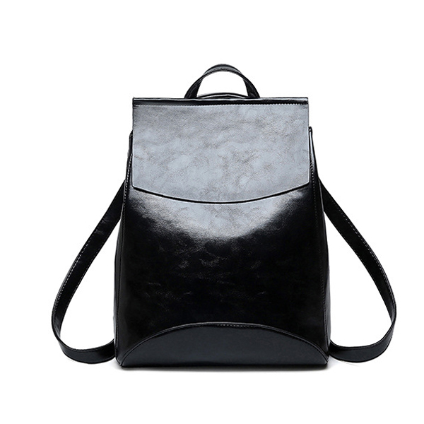 New Fashion Women Backpack High Quality Pu Leather Female Ladies Student Bag Girl Famous Brand Casual School Computer Package